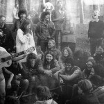 Hippie summer camp in Gauja, Latvia, 1979